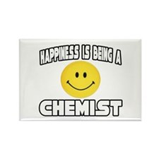 """Happiness...Chemist"" Rectangle Magnet"