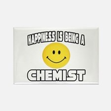 """""""Happiness...Chemist"""" Rectangle Magnet"""