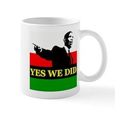 African American Victory Small Mug