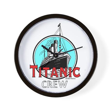 Titanic Crew Wall Clock