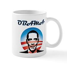 Modern Art Obama Mug