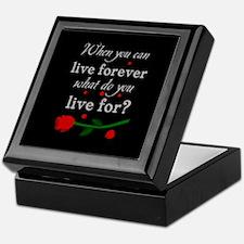 Live Forever Keepsake Box
