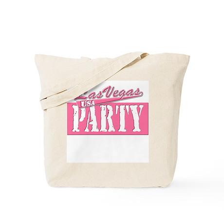 Las Vegas Party (Pink) Tote Bag