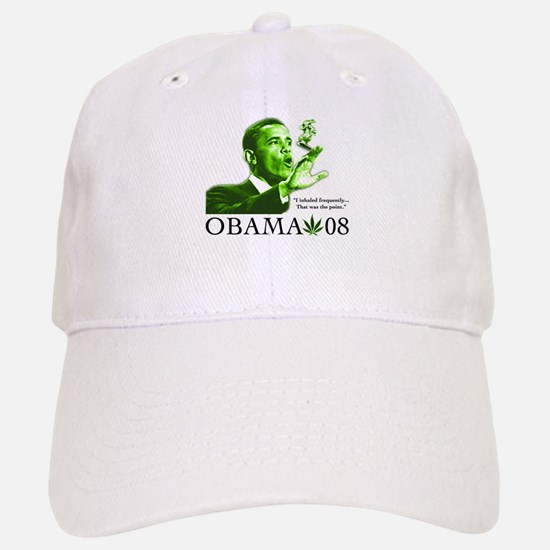 Obama Weed Marijuana Smoke Baseball Baseball Cap