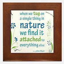 Nature Atttachment Framed Tile