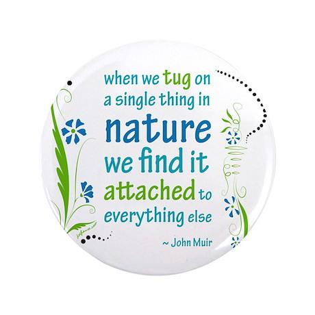 """Nature Atttachment 3.5"""" Button"""