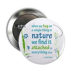 """Nature Atttachment 2.25"""" Button"""