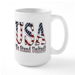 USA - We Stand United Mug
