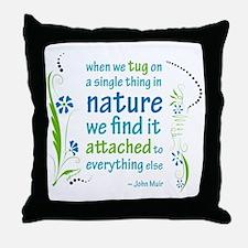 Nature Atttachment Throw Pillow