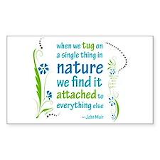 Nature Atttachment Rectangle Decal