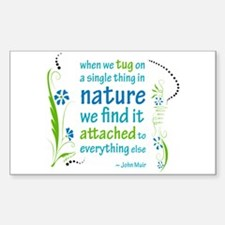 Nature Atttachment Rectangle Decal