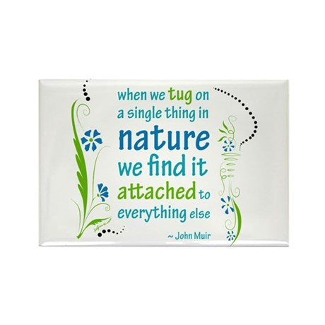Nature Atttachment Rectangle Magnet (10 pack)