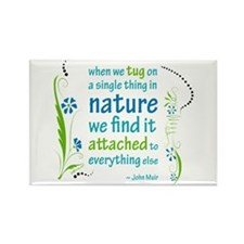 Nature Atttachment Rectangle Magnet