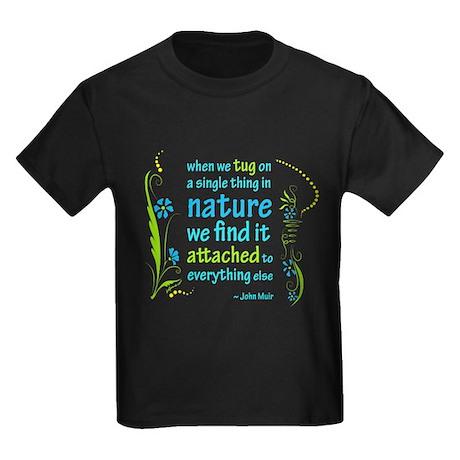 Nature Atttachment Kids Dark T-Shirt