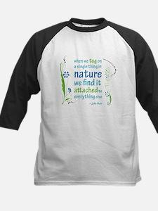Nature Atttachment Kids Baseball Jersey