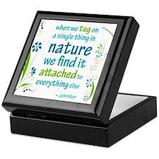 Nature Atttachment Keepsake Box