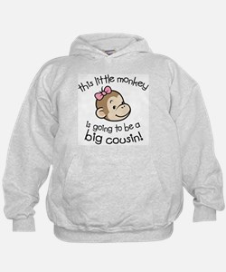 Big Cousin to be - Monkey Face Hoodie