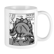 Dinosaurs & Wet Cement Mug