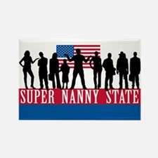 Super Nanny State Rectangle Magnet