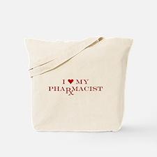 I LOVE MY PHARMACIST SHIRT CHRISTMAS GIFT Tote Bag