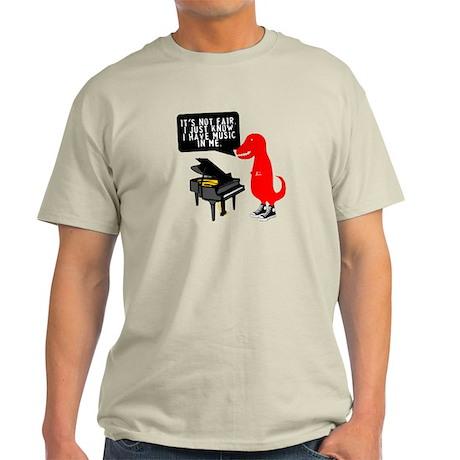 Pianosaurus Rex Men's Light T-Shirt