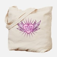 Team Alice (pink) Tote Bag