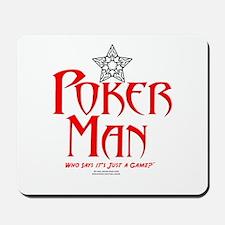 Poker Man Mousepad