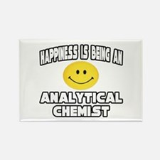 """""""Happiness..Analytical Chemist"""" Rectangle Magnet"""