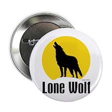 "Lone Wolf 2.25"" Button"