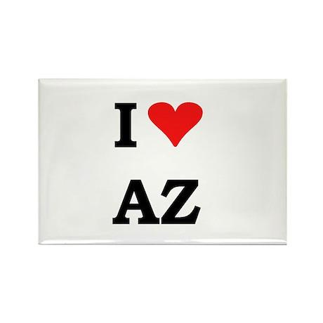 I Heart Arizona Rectangle Magnet (100 pack)
