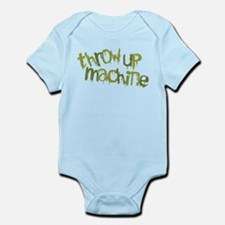 Throw Up Machine Infant Bodysuit