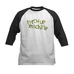 Throw Up Machine Kids Baseball Jersey
