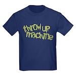 Throw Up Machine Kids Dark T-Shirt