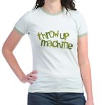 Throw Up Machine Jr. Ringer T-Shirt
