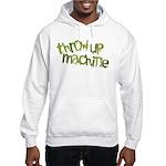 Throw Up Machine Hooded Sweatshirt