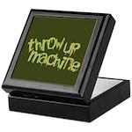 Throw Up Machine Keepsake Box