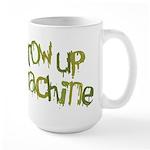Throw Up Machine Large Mug