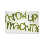 Throw Up Machine Rectangle Magnet