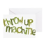 Throw Up Machine Greeting Cards (Pk of 20)