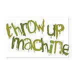 Throw Up Machine Mini Poster Print