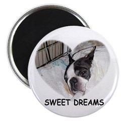 SWEET DREAMS BOSTON TERRIER 2.25