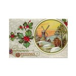 Dutch Christmas Rectangle Magnet