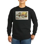 Dutch Christmas Long Sleeve Dark T-Shirt