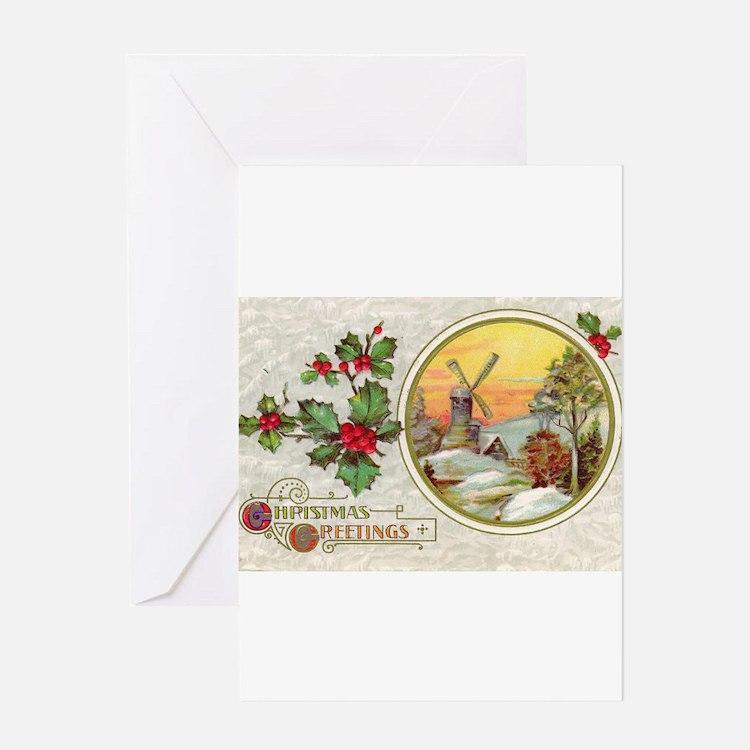 Dutch Christmas Greeting Card