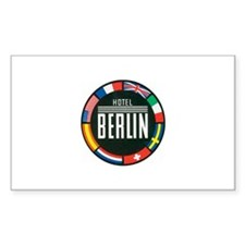 Berlin Germany Rectangle Decal
