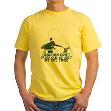 Funny fishing slogan T