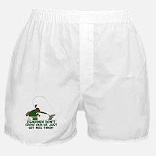 Funny fishing slogan Boxer Shorts