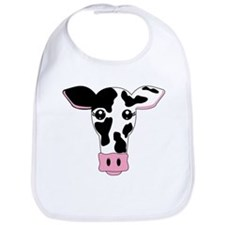 Sweet Cow Face Design Bib