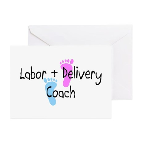 Labor & Delivery Coach Greeting Cards (Pk of 10)