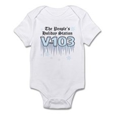 People's Holiday Station Infant Bodysuit